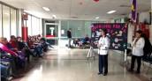 Hospital Barros Luco conmemora la 8° Semana de Lucha Contra el Cáncer